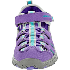 Merrell Hydro H2O Hiker Sandals Girls Purple/Grey